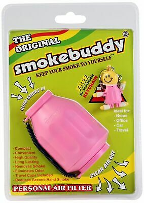 ORIGINAL Brand Smoke Buddy Personal Air Filter PINK Style Odorless Air Cleaner