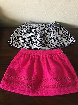 New Lot of 2 Genuine Kids From Osh Gosh Baby Girls Skirts 12 months NWT