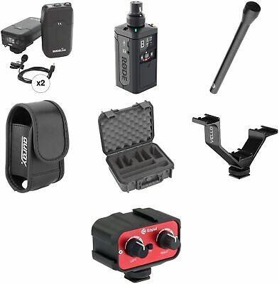 Rode RODELink 2-Person Digital Camera-Mount Wireless Combo Microphone System