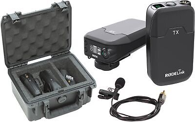 Rode RODELink Filmmaker Kit Digital Camera-Mount Wireless Omni Lavalier System
