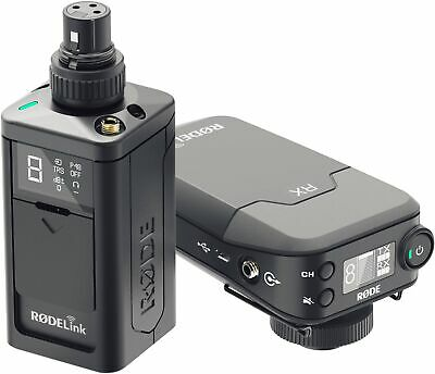 Rode RODELink Newsshooter Kit Digital Camera-Mount Wireless Plug-On Microphone