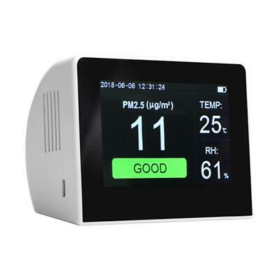 LCD Digital Gas Monitor Air Quality Analyzer Laser PM2.5 Detector Tester