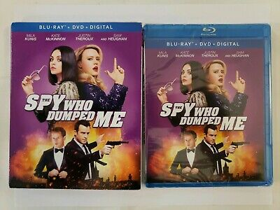 #NEW# The Spy Who Dumped Me (Blu-ray + DVD + Digital 2018 2-Disc) W/SLIPCOVER