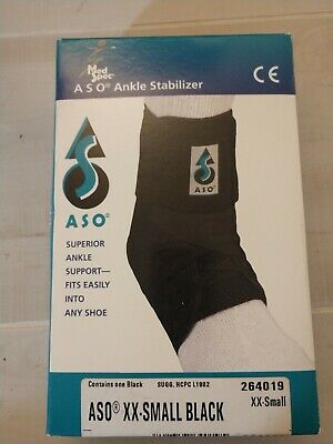 ASO Ankle Brace Guard Stabilizer Support Orthosis LN New Size XXS