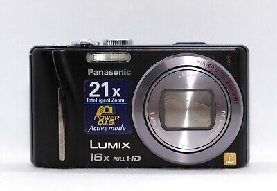 Panasonic Lumix DMC-ZS10 / DMC-TZ20 (Black) 14MP 16x Camera