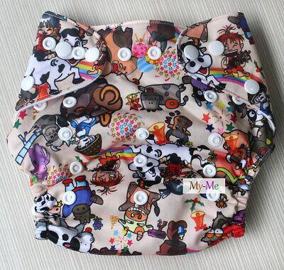 H47 Baby Cloth Diaper  Washable Reusable Pocket Best Nappy diaper cover
