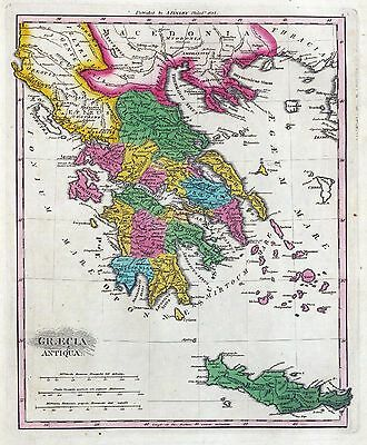 66 antique maps of GREECE Greek history VILLAGES towns GENEALOGY old DVD