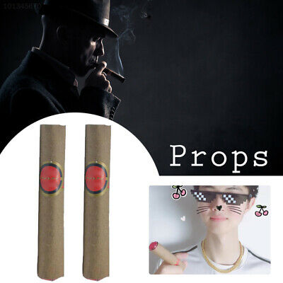 5BEF Fake Cigarette Cigar Toy Simulation Smoke Festival Party Adult Fun Prank Tr
