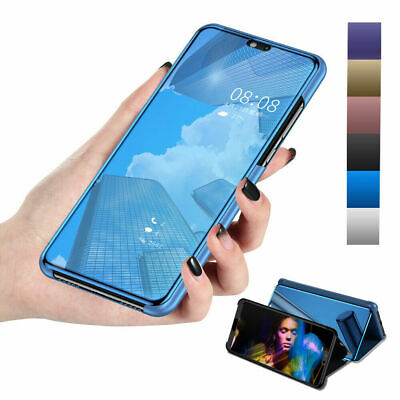 Mirror Leather Slim Stand Case Cover For Samsung S10 S10 Plus Note 9 S8 S7 Edge
