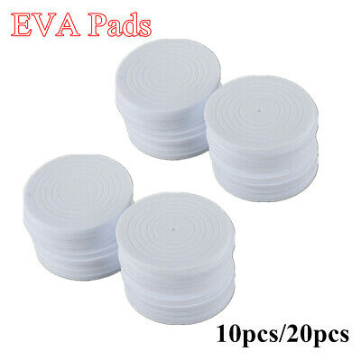 10/20pcs White EVA Inserts Pads for Coin Holder Capsule Storage Case Display Box