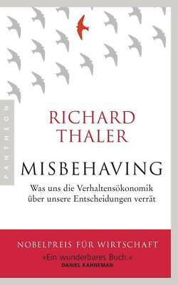 Misbehaving - Richard Thaler - 9783570554012 PORTOFREI