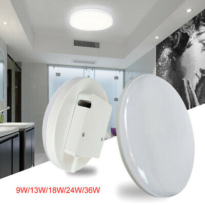 9/13/18/24/36W Round LED Ceiling Down Light Panel Wall Kitchen Bathroom Lamp Hot