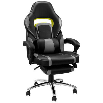 Ergonomic Faux Leather Racing Reclining Computer Gaming Executive Office Chair