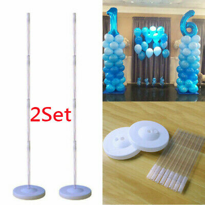 2X Upright Balloon Column Base Plastic Water inflatable Balloon Arch for Wedding