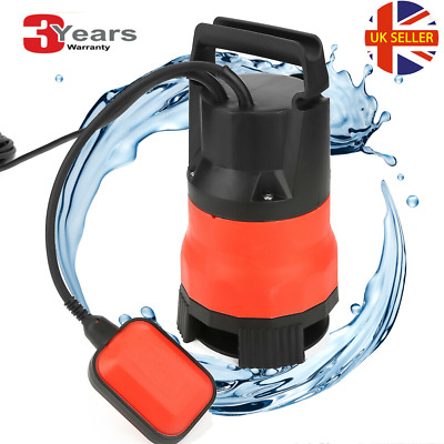 Electric Submersible Pump Clean Dirty Water Flood Pool Garden Well Pond 7500 L/H