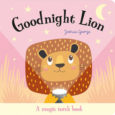 Goodnight lion magic torch bed time reading book toddler 1st birthday gift books