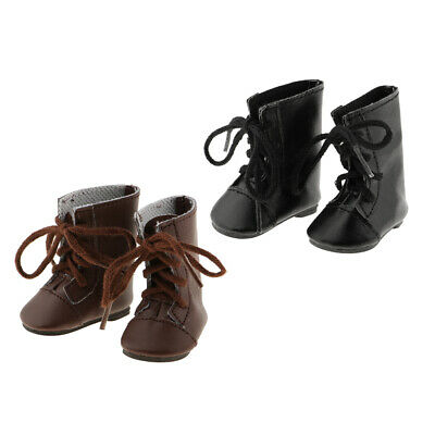 14inch Girl Doll Boots Shoes Flats for American Doll Clothes Accs Kids Gift