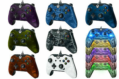 PDP Xbox One Wired Controller OFFICIAL Afterglow Prismatic for Xbox One - NEW !