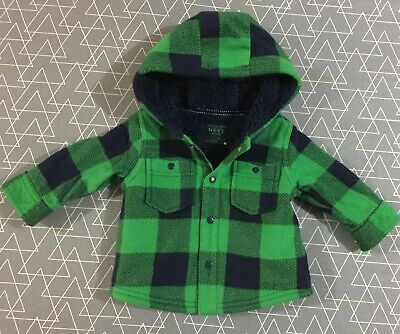 Next Baby Boys Hooded Jacket 3-6 Months 00