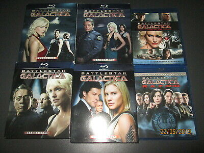 Blu-ray Import - BATTLESTAR GALACTICA komplett + Razor + The Plan