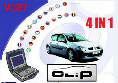 Renault Can Clip V187 + Reprog V172 + Pin Extractor 2 + Gift
