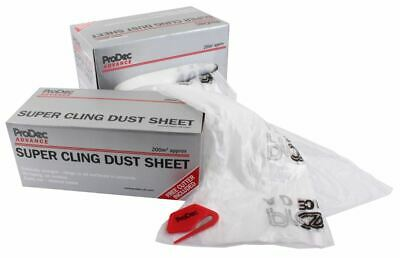 ProDec Super Cling Dust Sheet 200sqm DIY Dust Sheets ADPY003