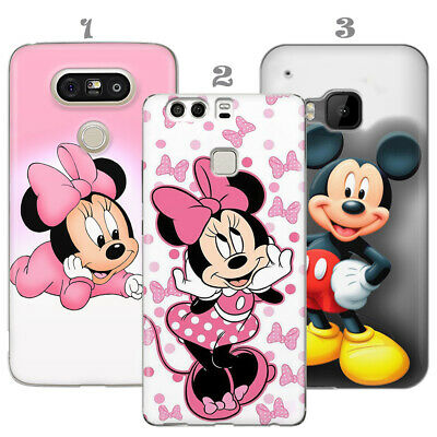Walt Disney Mickey Mouse Gift For Kid Case Cover LG G5 G6 HTC M9 M10 Huawei P20