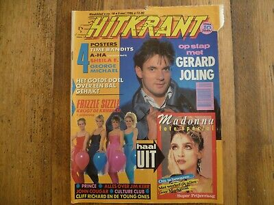 Hitkrant 1986: Madonna/Joling/Prince/Culture Club/Songfestival/George Michael