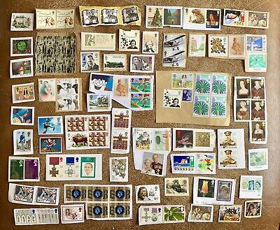 Gb Modern Collection Of Mixed Value Unfranked Commemorative Stamps Kiloware
