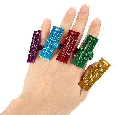 Dental Finger Ring Ruler Instrument Dentist Equipment Root Canal Measured Scale