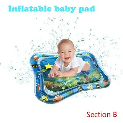 Inflatable Baby Water Mat Novelty Play for Children Kids Infant Tummy Time