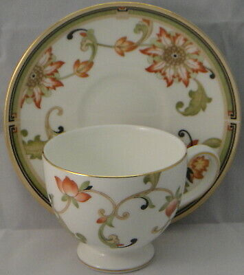 Wedgwood Oberon Cup & Saucer Set (Leigh Shape)