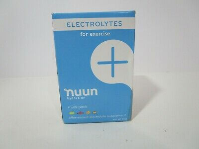 Nuun, Active, Tablets, 4 tubes, Mixed Original Flavors, *READ BELOW* FREE SHIP!