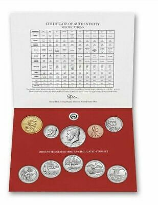 2019-D 10-Coin Uncirculated From US MINT  Coin Set Presale