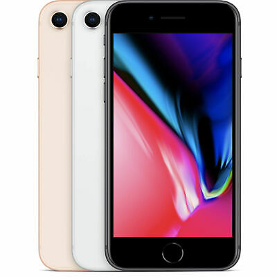 Apple iPhone 8 64GB - 256GB - 4G LTE - Factory Unlocked T-Mobile Sprint AT&T