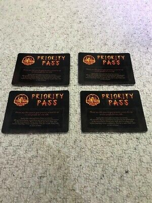 Alton Towers Wickerman Priority Entrance - Fast Track x4