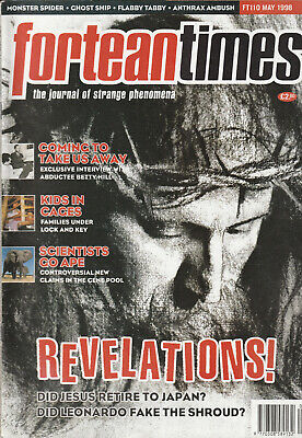 FORTEAN TIMES Magazine May 1998 - Revelations!
