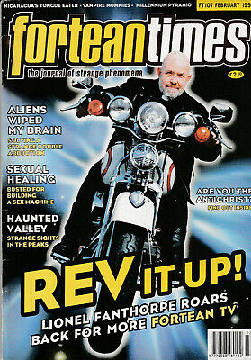 FORTEAN TIMES Magazine February 1998 - Rev It Up!