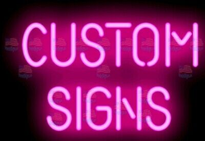 Custom Neon Sign Light Real Gl