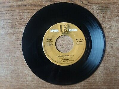 1980S MINT-EXC+The Cars  – Magic / You Might Think 65983 45