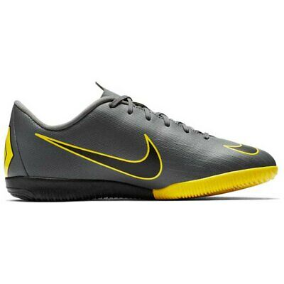 size 40 9dc81 a380f Nike Mercurial Vapor Xii Academy Gs Ic Giallo|Grigio T72486/ Unisex Nike