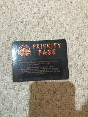 Alton Towers Wickerman Priority Entrance - Fast Track x1