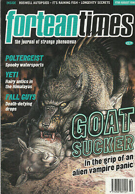 FORTEAN TIMES Magazine August 1996 - Goat Sucker