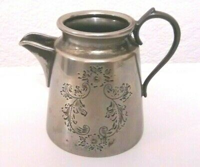 Antique Silver Plated Milk Jug - Height 3 ins