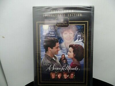 Hallmark Gold Crown Collector's Edition A SEASON FOR MIRACLES  (DVD)  BRAND NEW