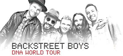 Backstreet Boys VIP Concert Experience w/Meet & Greet (2 Tickets Included)
