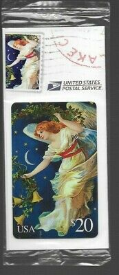 1995 Collectible American Express US Postal Service Angel Prepaid Phone Card Lot