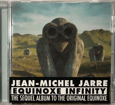 Jean-Michel Jarre - Equinoxe Infinity CD NEW RUSSIAN EDITION