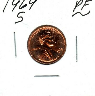 1969-S Lincoln Memorial Cent Gem Proof Might Sell To 1St Bid #C930