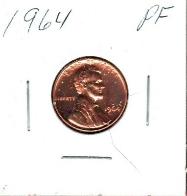 1964 Lincoln Cent Nice Proof Might Sell 1St Bidder.. Bid Now #C805